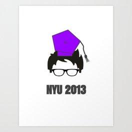 NYU Grad Art Print