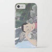 murakami iPhone & iPod Cases featuring HARUKI MURAKAMI by Lucas Eme A