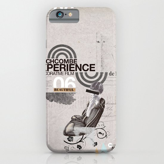 Additional poster design- The Wichcombe Experience iPhone & iPod Case
