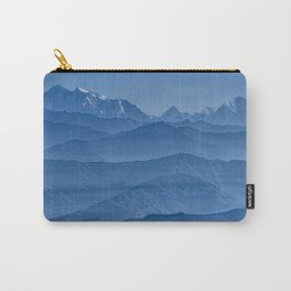 Blue Hima-layers Carry-All Pouch