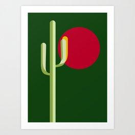 verde esperanza Art Print
