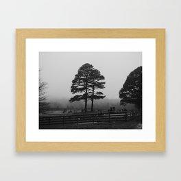 spooky tree II Framed Art Print