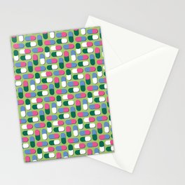 Colorful pills Stationery Cards