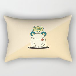 Derp Derp Rectangular Pillow