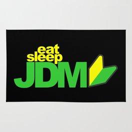 Eat Sleep JDM Rug