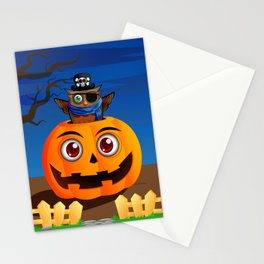 Halloween Owl Stationery Cards