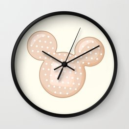 Pop Plaster Wall Clock