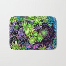 Green Fantasy by Lika Ramati Bath Mat