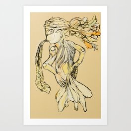 Organicism  Art Print