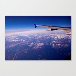 My Wing Tip Canvas Print