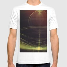 Birth of a Soul White MEDIUM Mens Fitted Tee