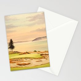 Chambers Bay Golf Course 15th Hole Stationery Cards