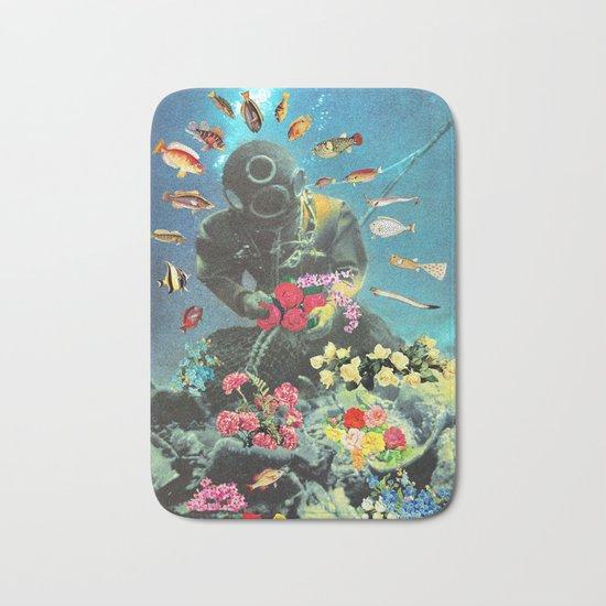 Underwater Flora Bath Mat