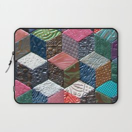 Tumbling Blocks #1 Laptop Sleeve