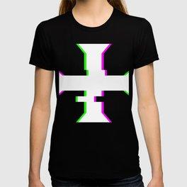 Glitch Crusader Templar Cross T-shirt
