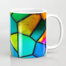 colorful stained glass Coffee Mug