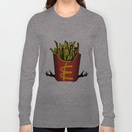 Sublimation Of A Monster Long Sleeve T-shirt