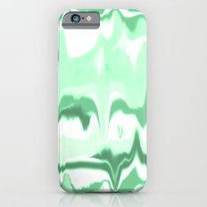 Marbled in emerald Slim Case iPhone 6s