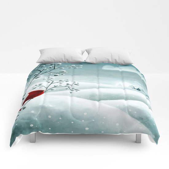 Cardinal by Friztin Comforters