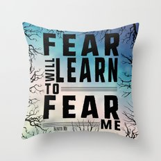 Shatter Me - Fear Throw Pillow