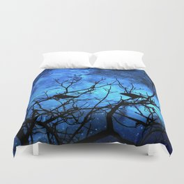 Crows: Attempted Murder -Blue Skies Duvet Cover