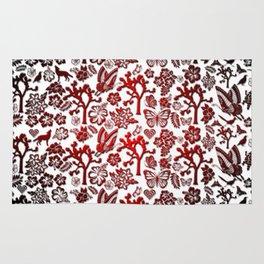 Joshua Tree Heart RED by CREYES Rug