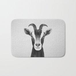 Goat - Black & White Bath Mat