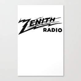 Zenith Logo Canvas Print