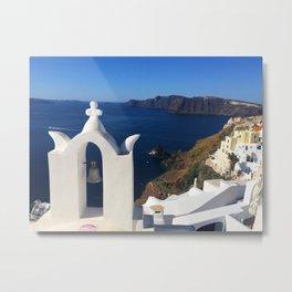 Oia, Greece (photo) Metal Print