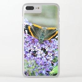 Butterfly III Clear iPhone Case