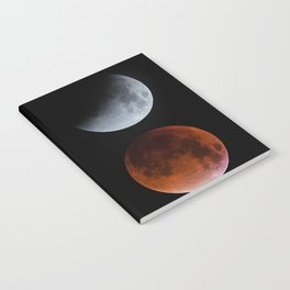 Blood Moon Transition in 4 Notebook