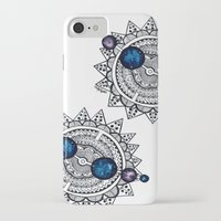 interstellar iPhone & iPod Cases featuring Interstellar by HaleySayersArt