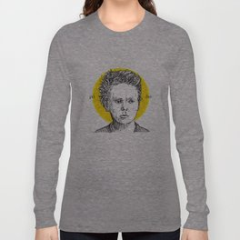 St. Marie Curie Long Sleeve T-shirt