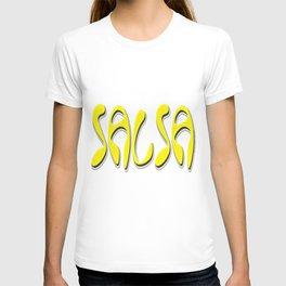 Salsa Yellow Niche T-shirt