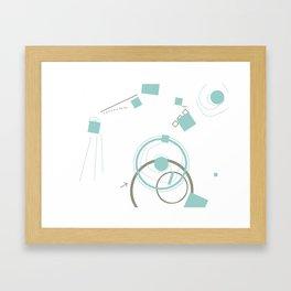 Art & Anthropology - Envelope Poster 3 Framed Art Print