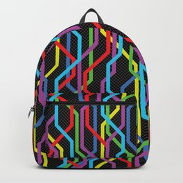 Pattern 020: Map Lines Backpack