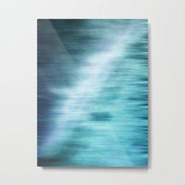Good Waves Are Coming Metal Print