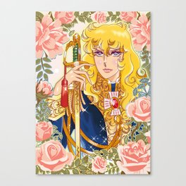 Versailles No Bara Canvas Print