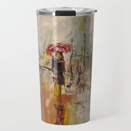 Walk on the Promenade des Anglais. Travel Mug