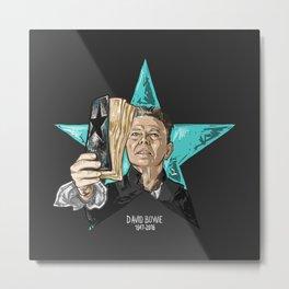 Blackstar Bowie Metal Print