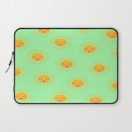 Litle Sunshine (mint) Laptop Sleeve