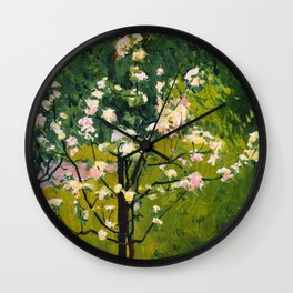 """Koloman (Kolo) Moser """"Flowering tree"""" Wall Clock"""