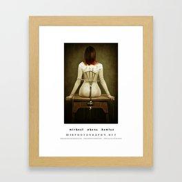 dark things 1 Framed Art Print