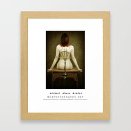 dark things 1 Framed Art Print