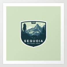Sequoia 100 Years Art Print