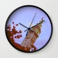 clockwork Wall Clocks featuring clockwork  by lizbee