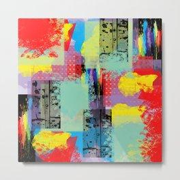 Raining Color Metal Print