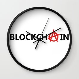 Blockchain Wall Clock