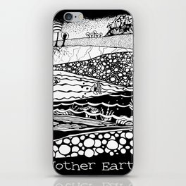 Mother Earth / Madre Tierra iPhone Skin