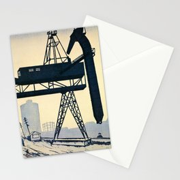Sunamachi Landscape - Digital Remastered Edition Stationery Cards